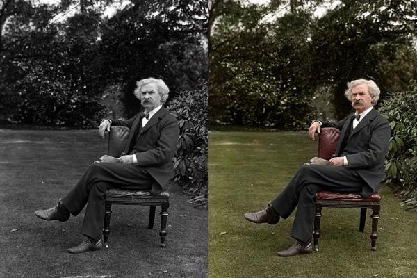 O escritor Mark Twain. Você o conhece?