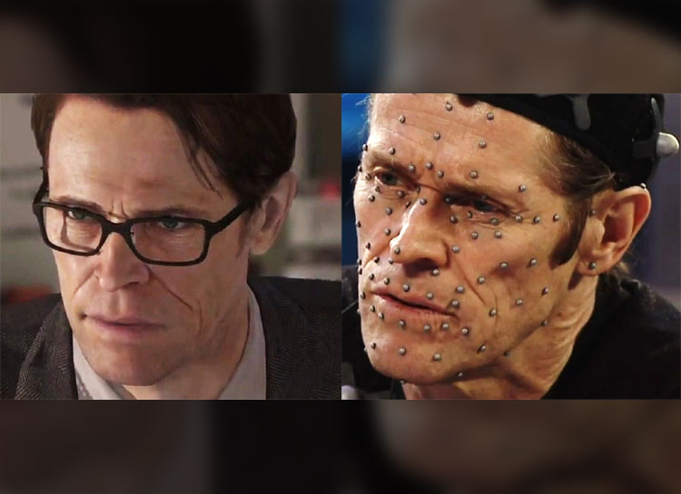 18. Willem Dafoe: Beyond Two Souls