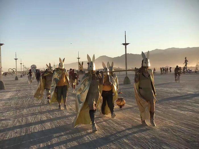 Burning Man: uma experiência social em comunidade