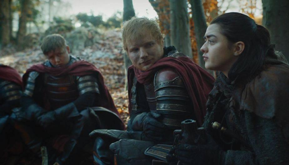 Ed Sheeran gerou uma revolução ao aparecer em GOT