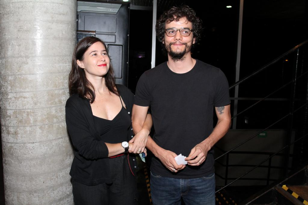 Wagner Moura e Sandra Delgado