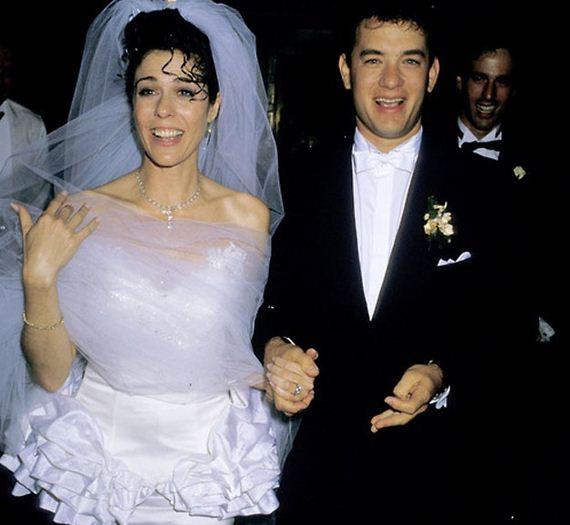 Tom Hanks e Rita Wilson fizeram seu amor oficial em 1988
