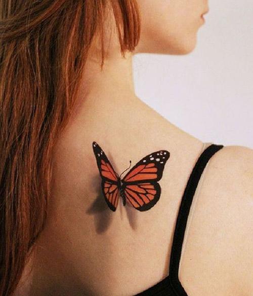 O que significa tatuagem de borboletas?