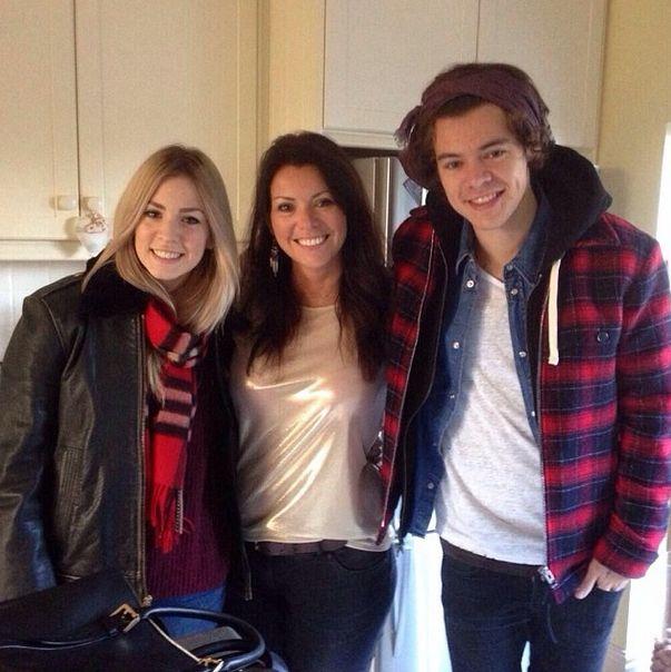 Anne Twist, a jovem mãe de Harry Styles e Gemma