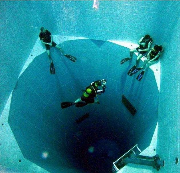 Esta é a piscina mais assustadora