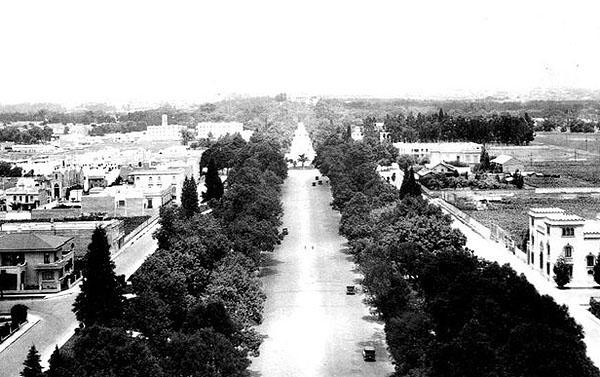 O Paseio da Reforma há vários anos