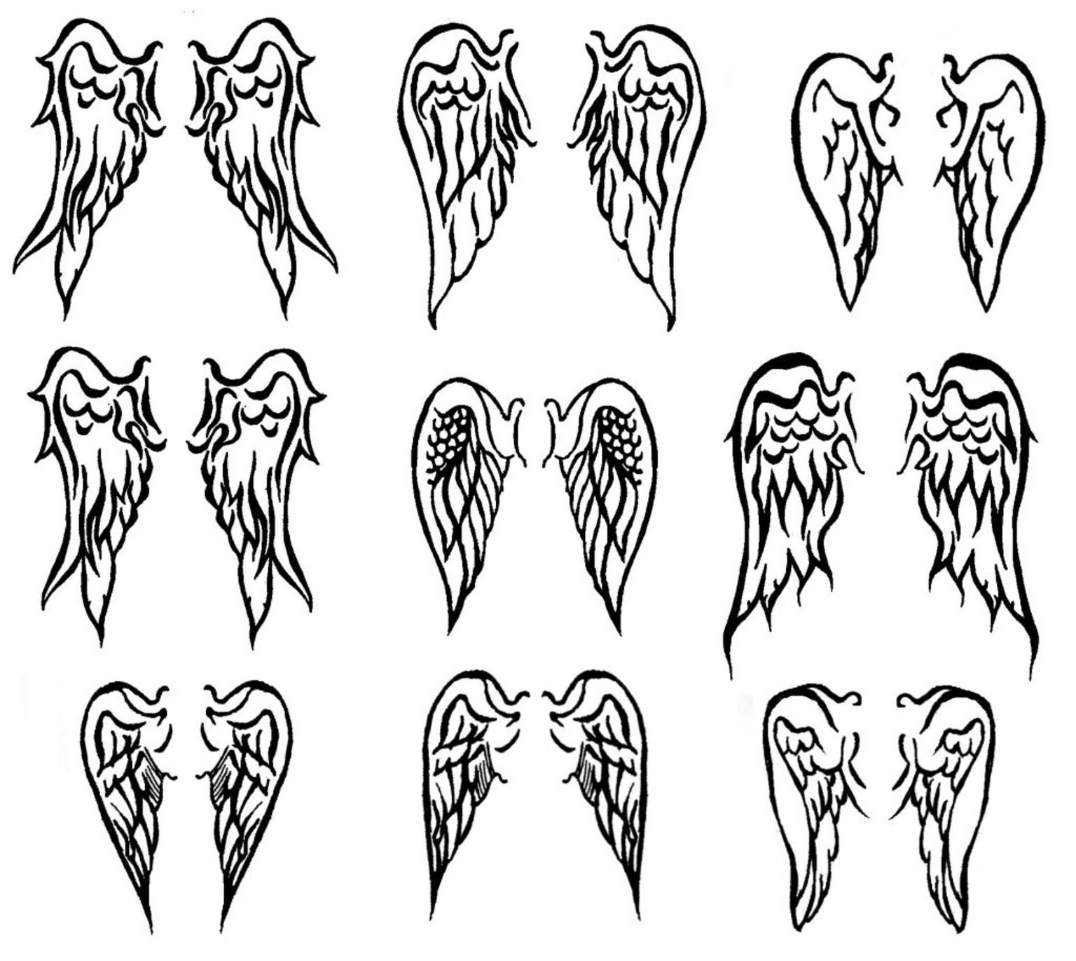 O que significa a tatuagem das asas?