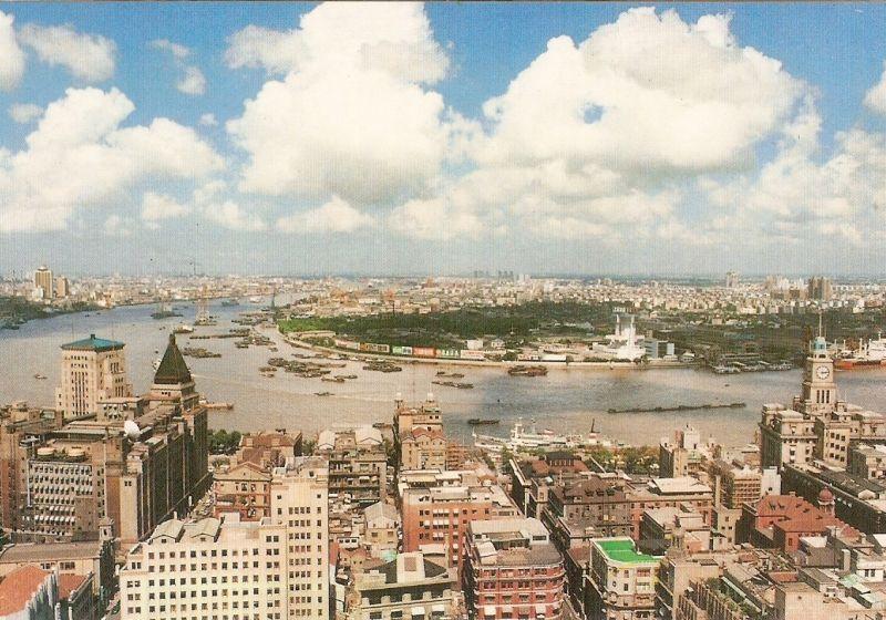 Xangai em 1990 sem modernização