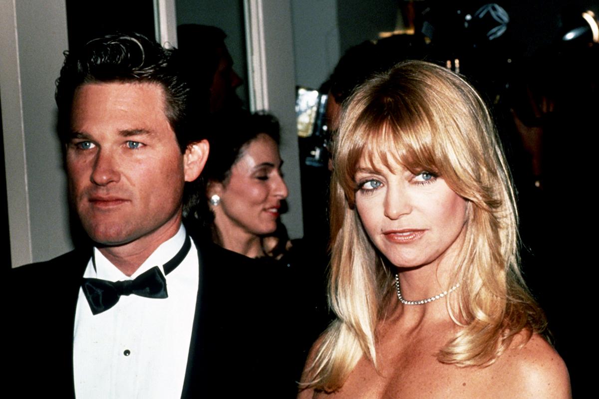Goldie Hawn e Kurt Russell namoram desde 1983