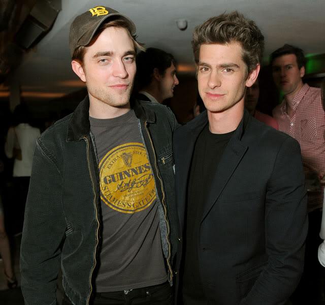 Robert Pattinson é o melhor amigo de Andrew Garfield