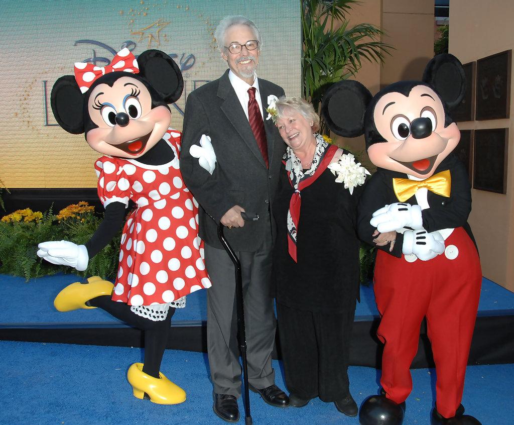As vozes de Mickey e Minnie Mouse pertenciam a dois atores que eram casados na vida real