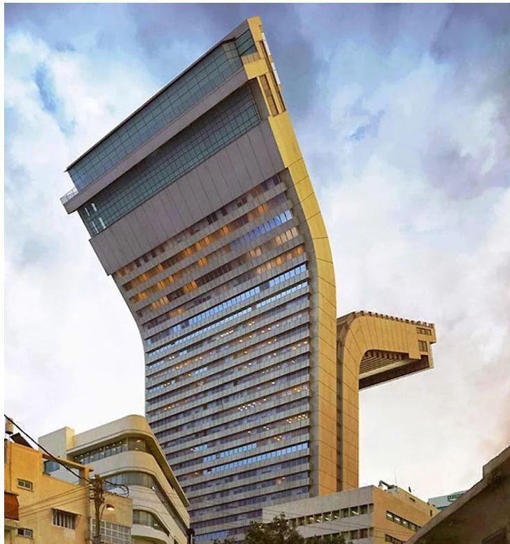 Outro prédio estranho que não tem explicação!