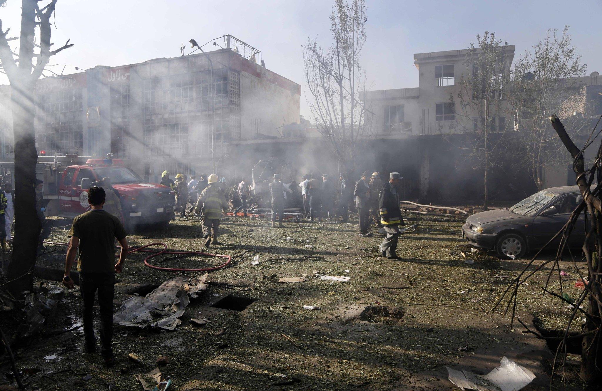 Kabul, Afeganistão atualmente com guerra