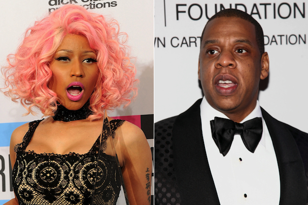 Nicki Minaj não existe, na verdade é o Jay Z