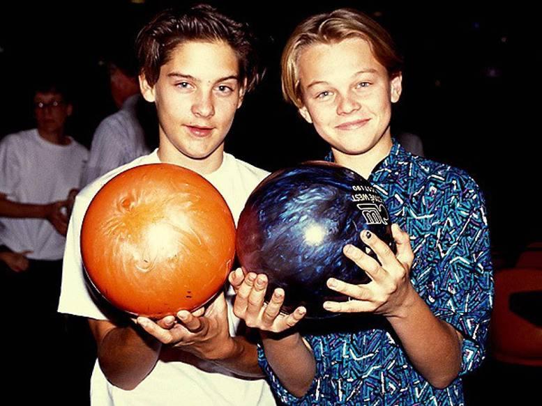 Tobey Maguire e Leonardo DiCaprio têm uma amizade invejável