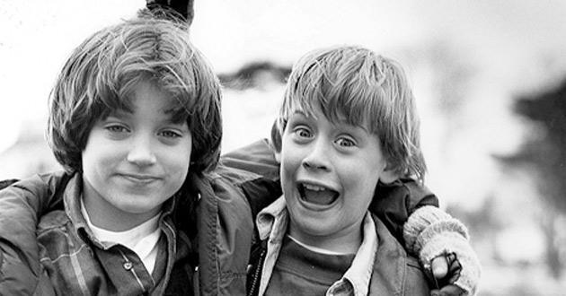 Dois garotos talentosos, Macaulay Culkin e Elijah Wood