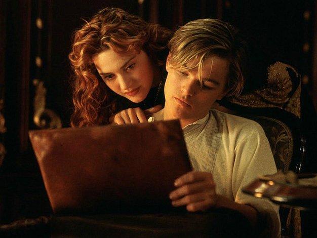 James Cameron desenhou o esboço de Rose sem roupas no Titanic