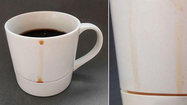 Adeus às horríveis manchas de café!