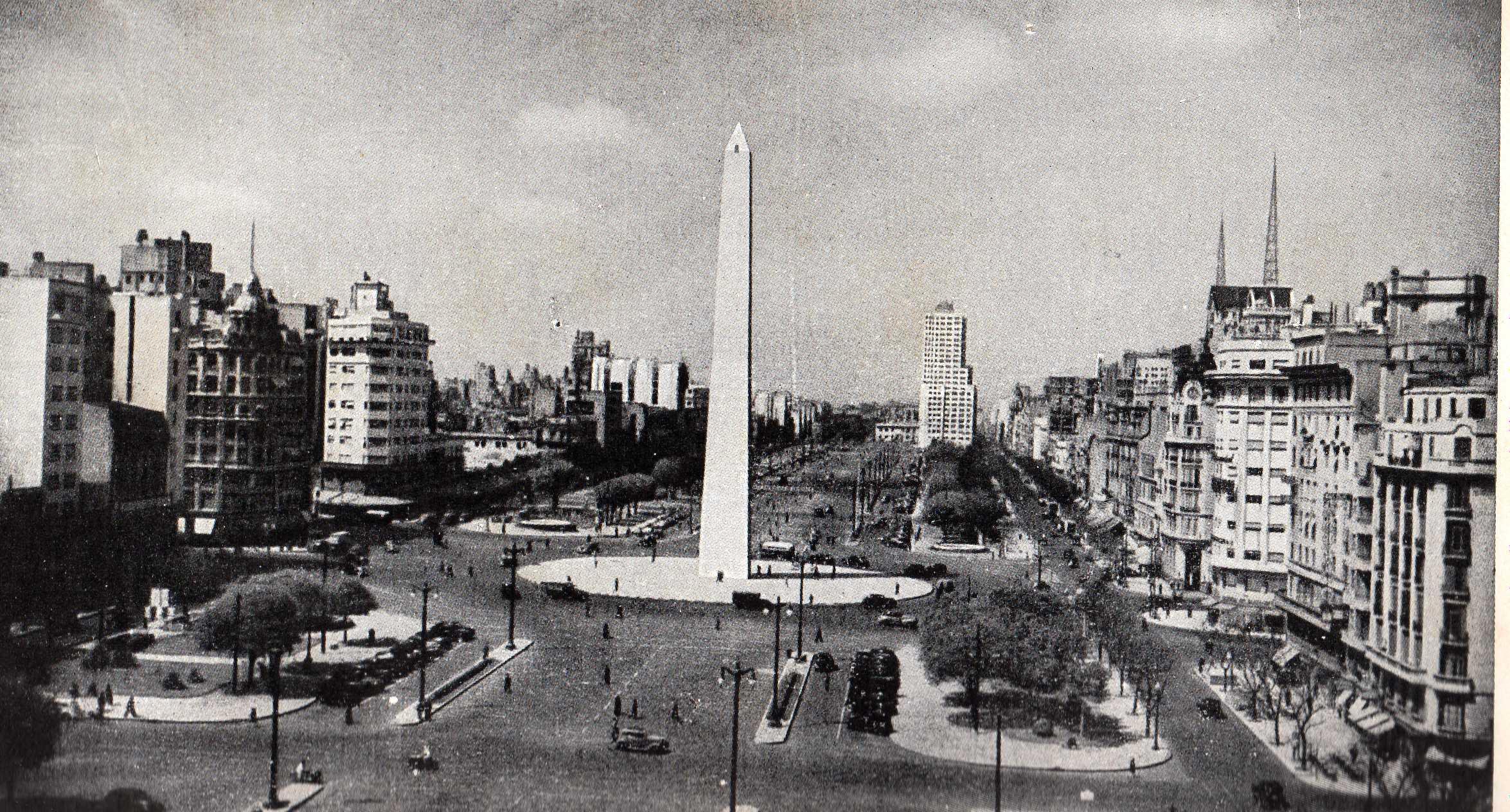 Obelisco de Buenos Aires em 1970