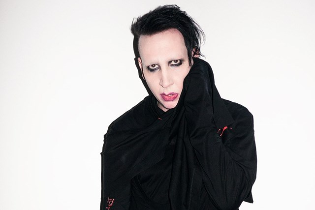 Marilyn Manson não é Paul Pfeiffer, mas seus fãs gostam da história