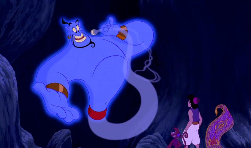 Robin Williams inspirou o Gênio da lâmpada
