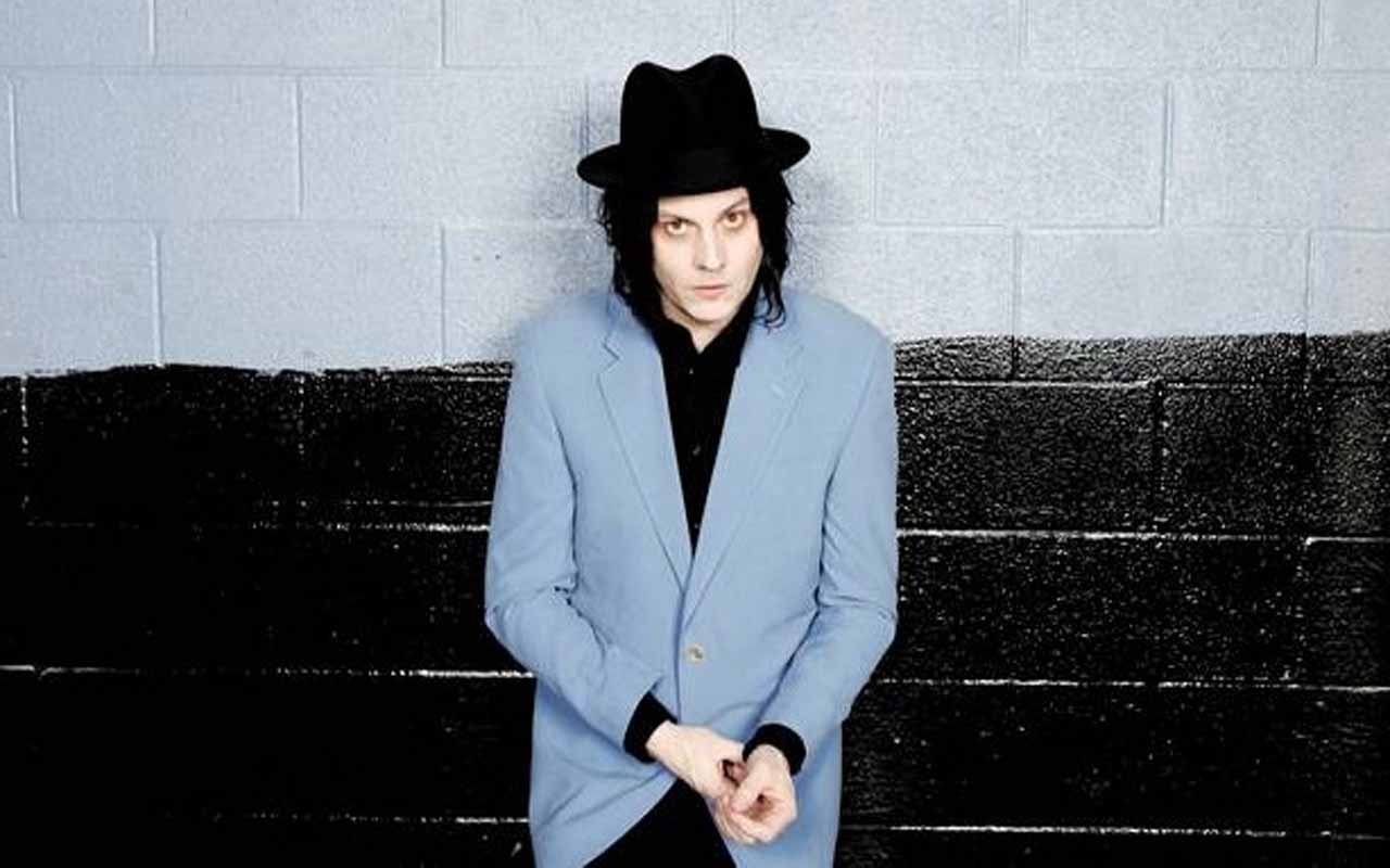 Este é Jack White do White Stripes