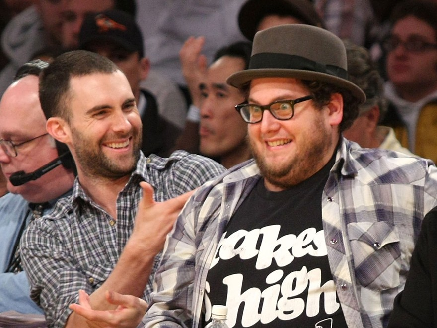 Adam Levine e Jonah Hill têm uma amizade de infância
