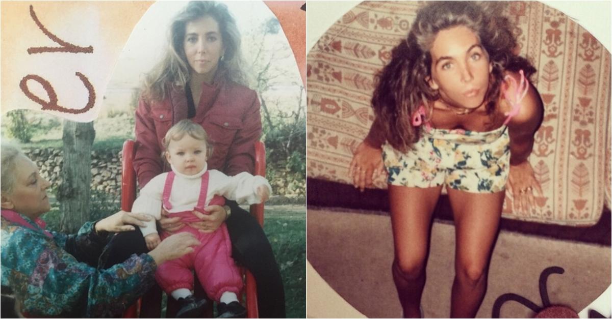 Belinda Schüll é a bela mãe de Belinda