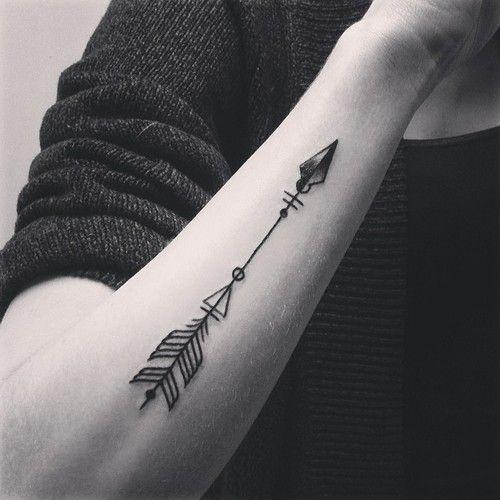 O que significa a tatuagem das flechas?