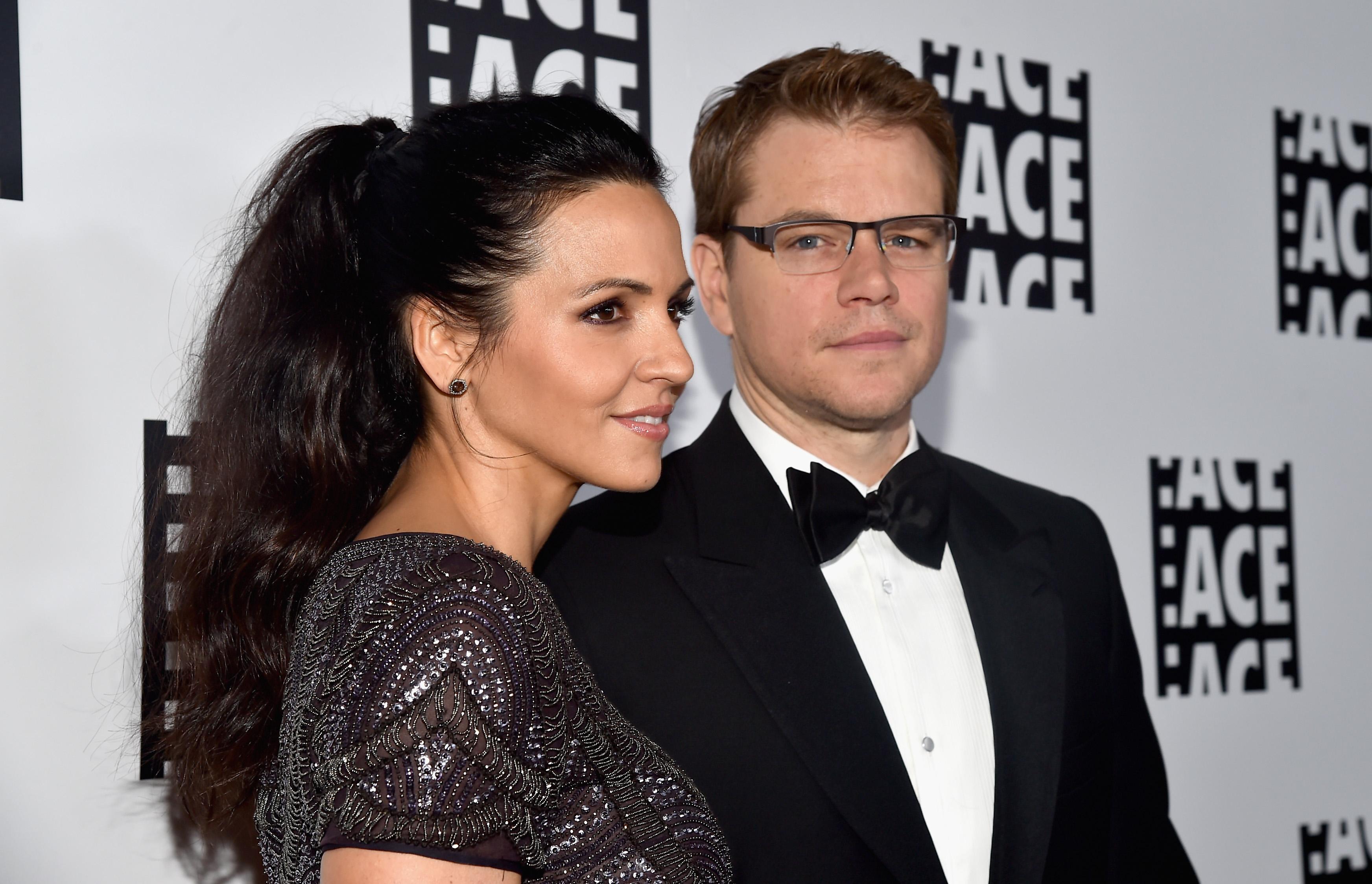 Matt Damon casou com sua fã Luciana Bozan