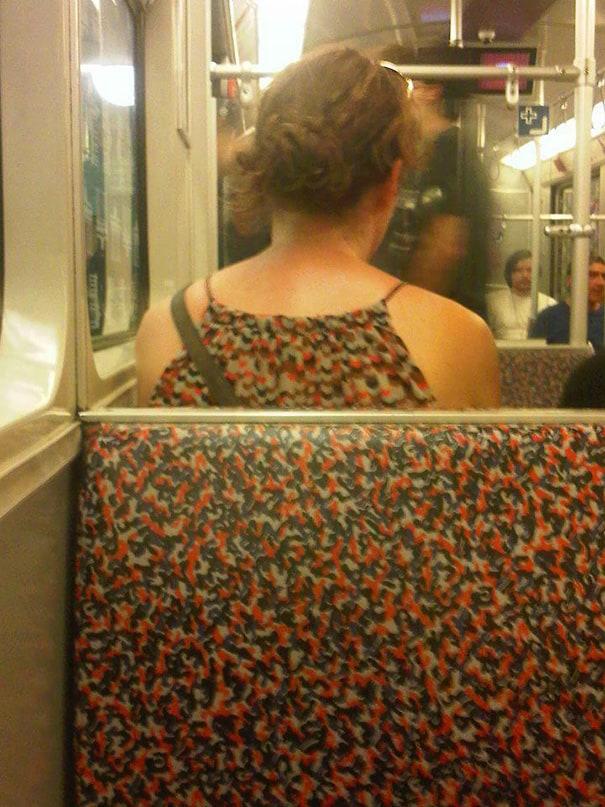 Hoje eu quero me vestir inspirado pelo assento