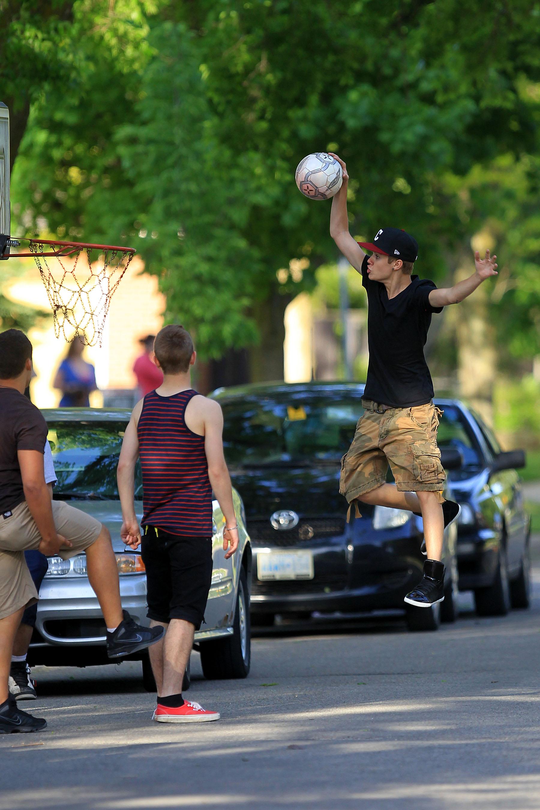 Justin Bieber é um fã dos esportes