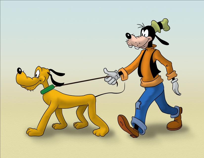 Pateta e Pluto eram cães, mas um era o animal de estimação