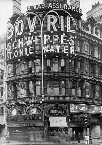 Piccadilly Circus, Londres 1948