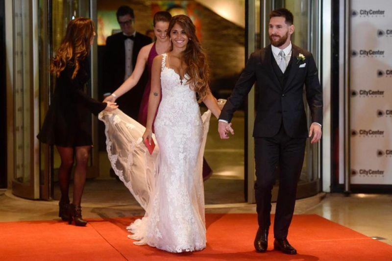 Agora, finalmente, Messi e Antonella são casados