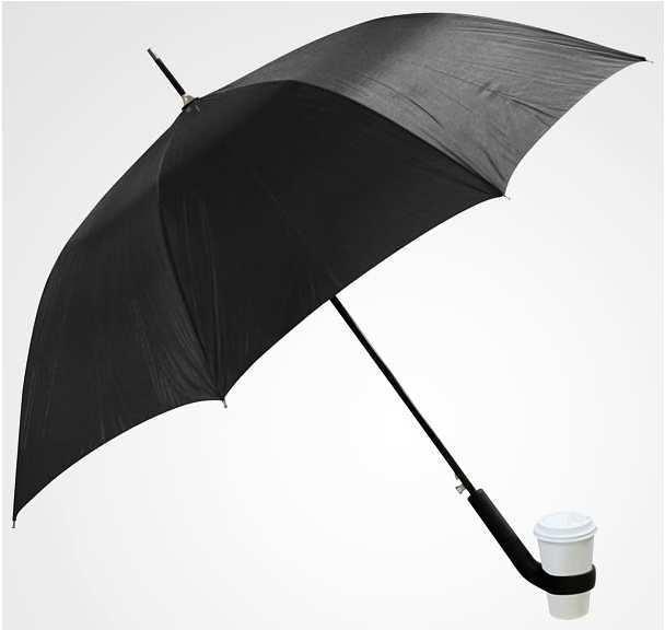 Guarda-chuva com porta copos