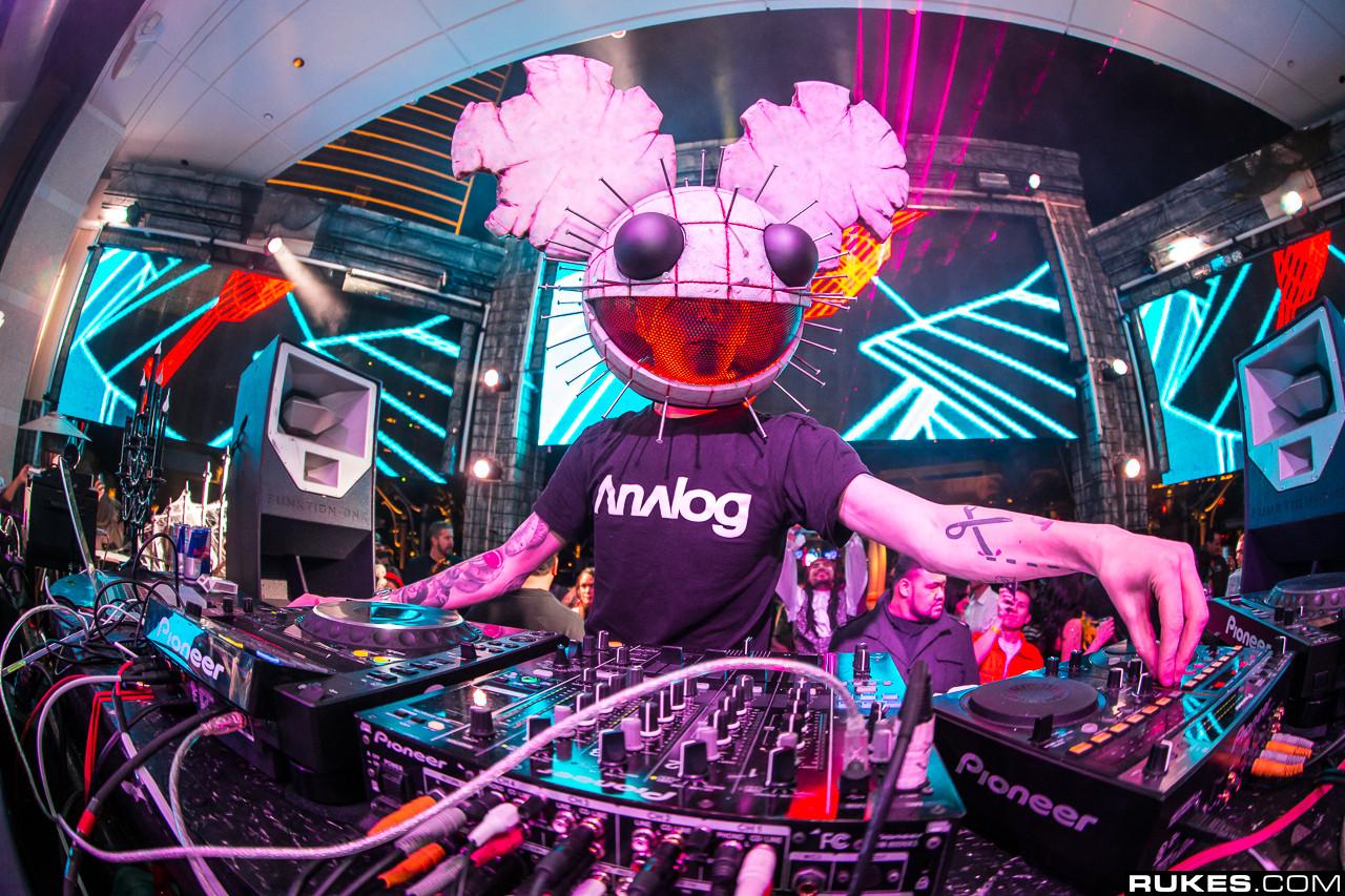 Deadmau5 é um talentoso DJ