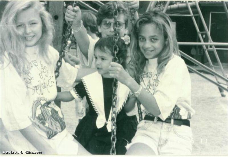 As amigos mais famosas, Paris Hilton e Nicole Richie