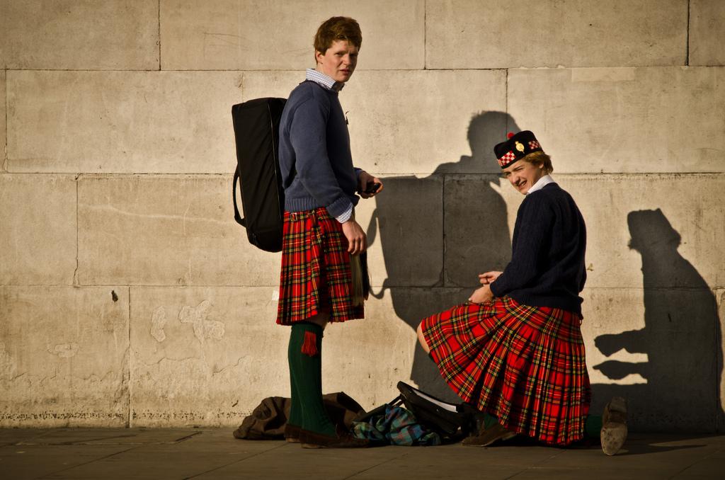 Escócia: eles usam saias e recitam poemas uma vez por ano