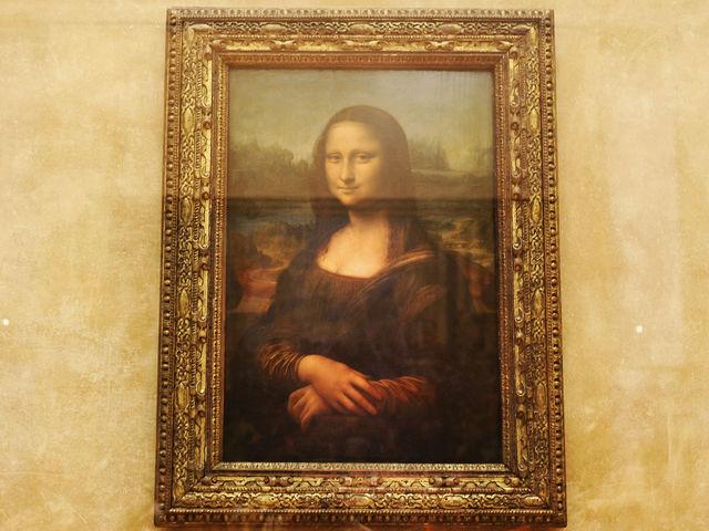 O Monalisa - Museu do Louvre
