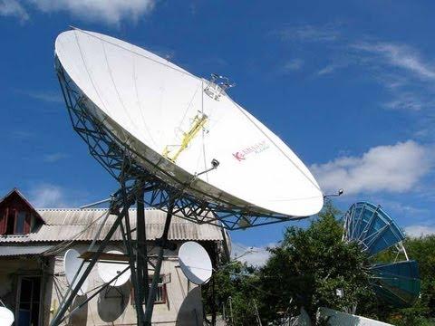 Televisão via satélite