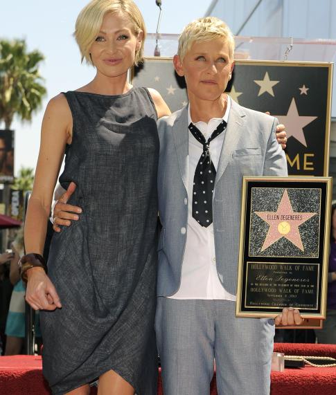 Ellen e Portia se apoiam e se respeitam muito