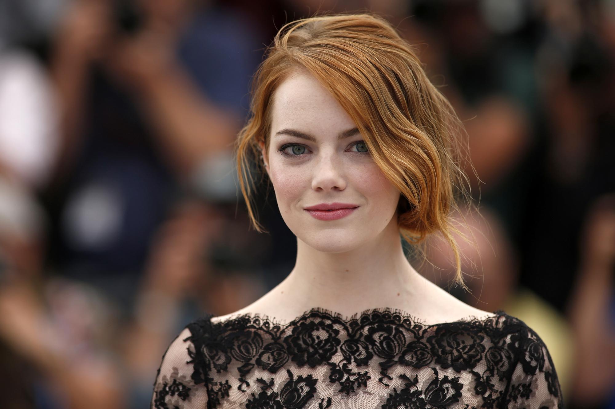 Emma Stone é belíssima!