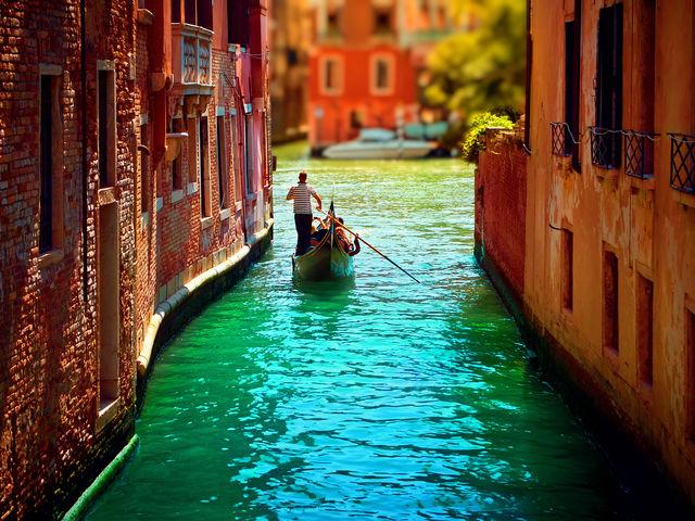O Grande Canal de Veneza - Itália