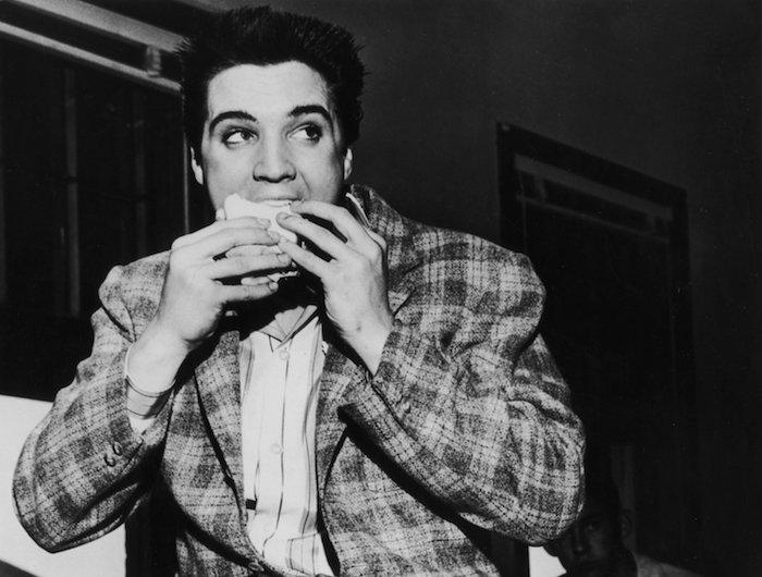 Elvis sempre teve um amor pela comida
