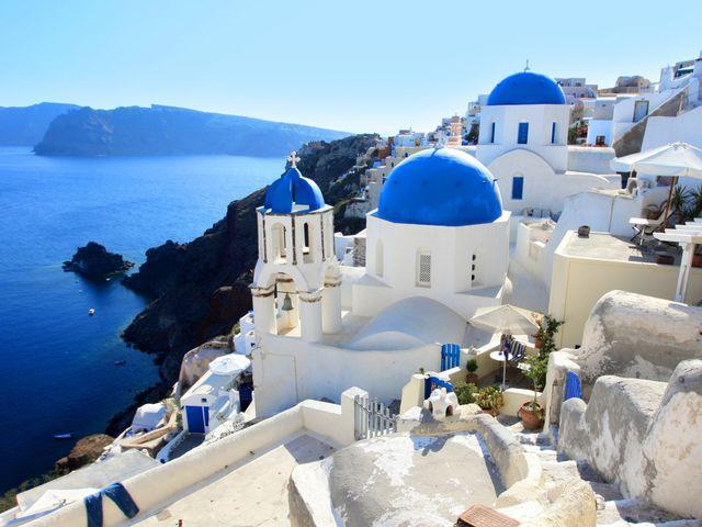 Ilha de Santorini - Grécia