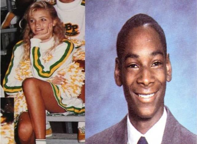 Cameron Diaz e Snoop Dogg foram para a mesma escola