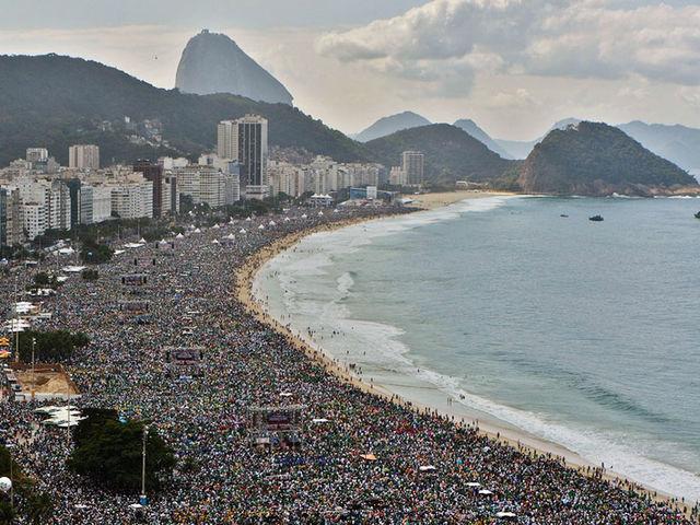 Copacabana na vida real