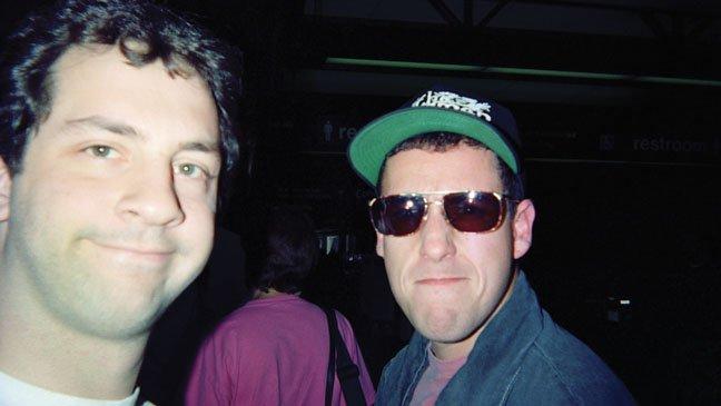Judd Apatow e Adam Sandler moraram juntos antes da fama