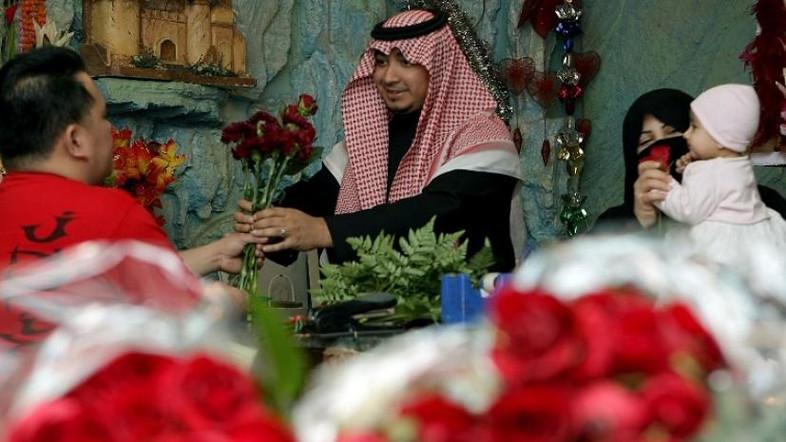 Arábia Saudita: você não pode comemorar o dia dos namorados